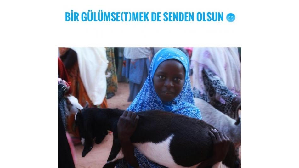 Nijer'de Sıcak Bir Tebessümünüz Olsun
