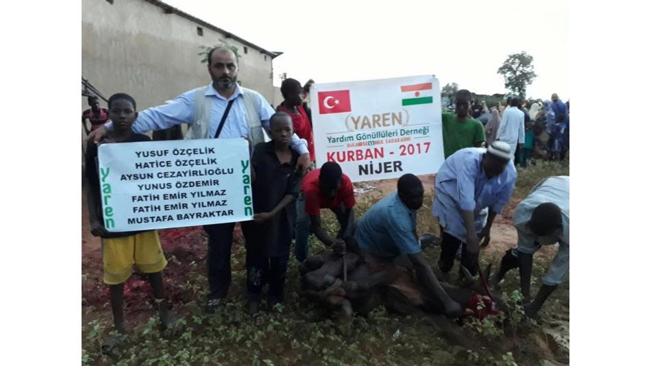 Nijer'de Kurbanlarımız Kesilmeye Devam Ediyor