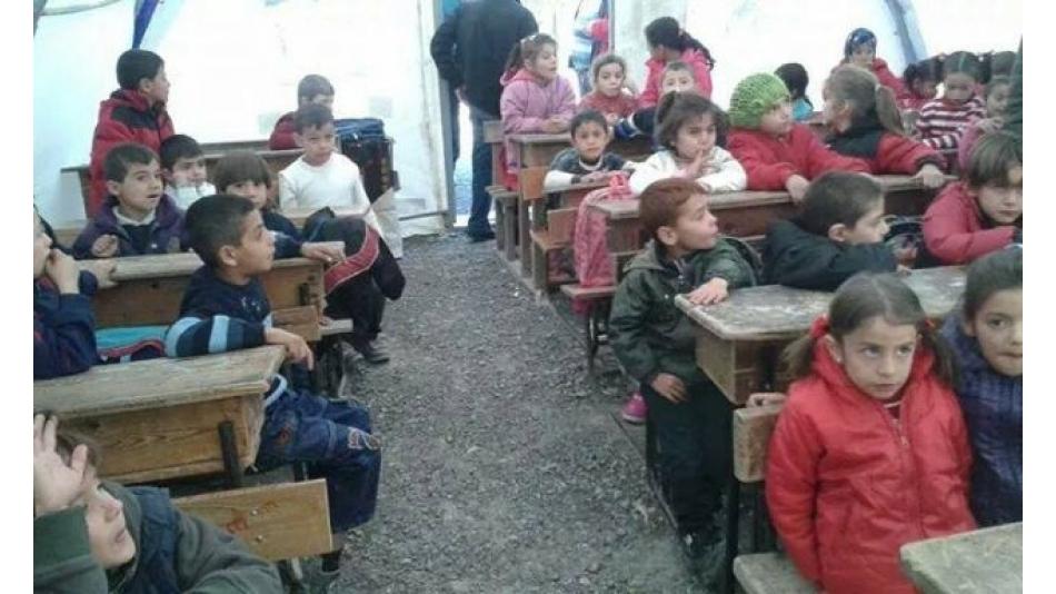 Suriye Türkmen Dağı Okul Projesi